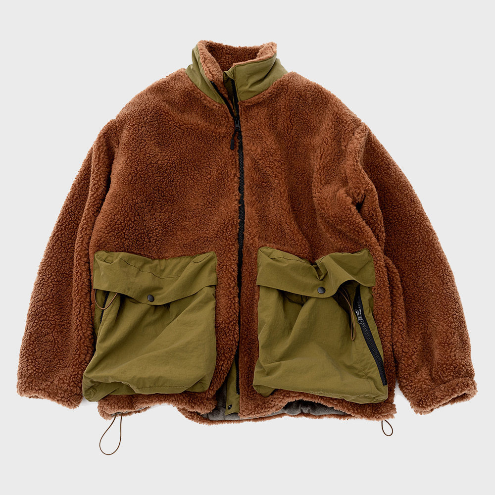 SOLID FLEECE (Brown)