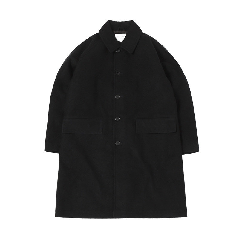 BONDED BAL COLLAR COAT