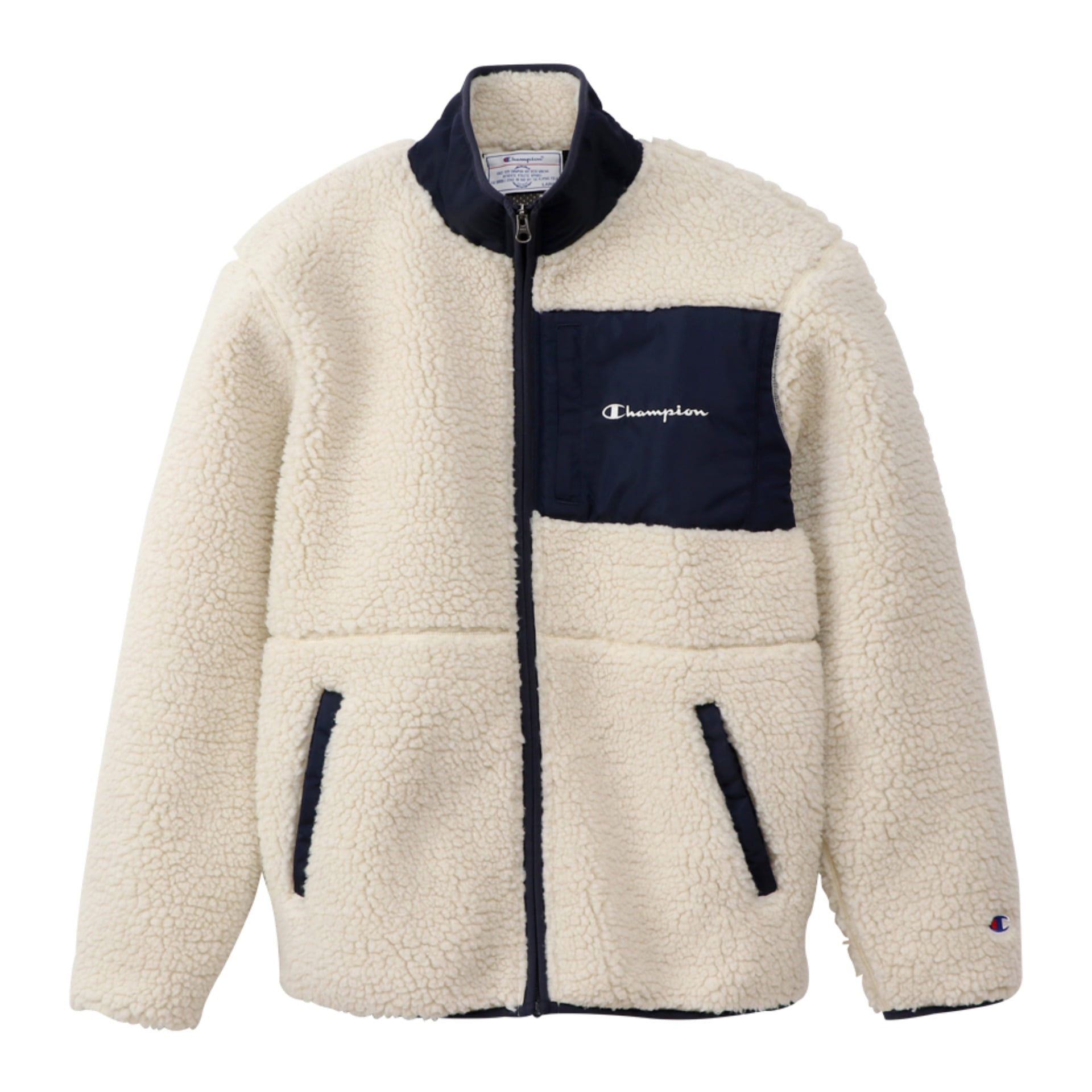 BOA FLEECE ZIP JACKET (White)