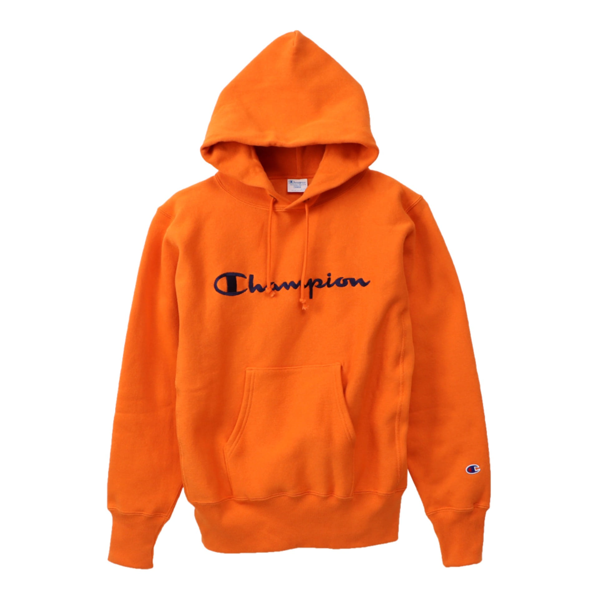 Reverse Weave®11.5OZ Blue Tag Hood Sweat (Orange)
