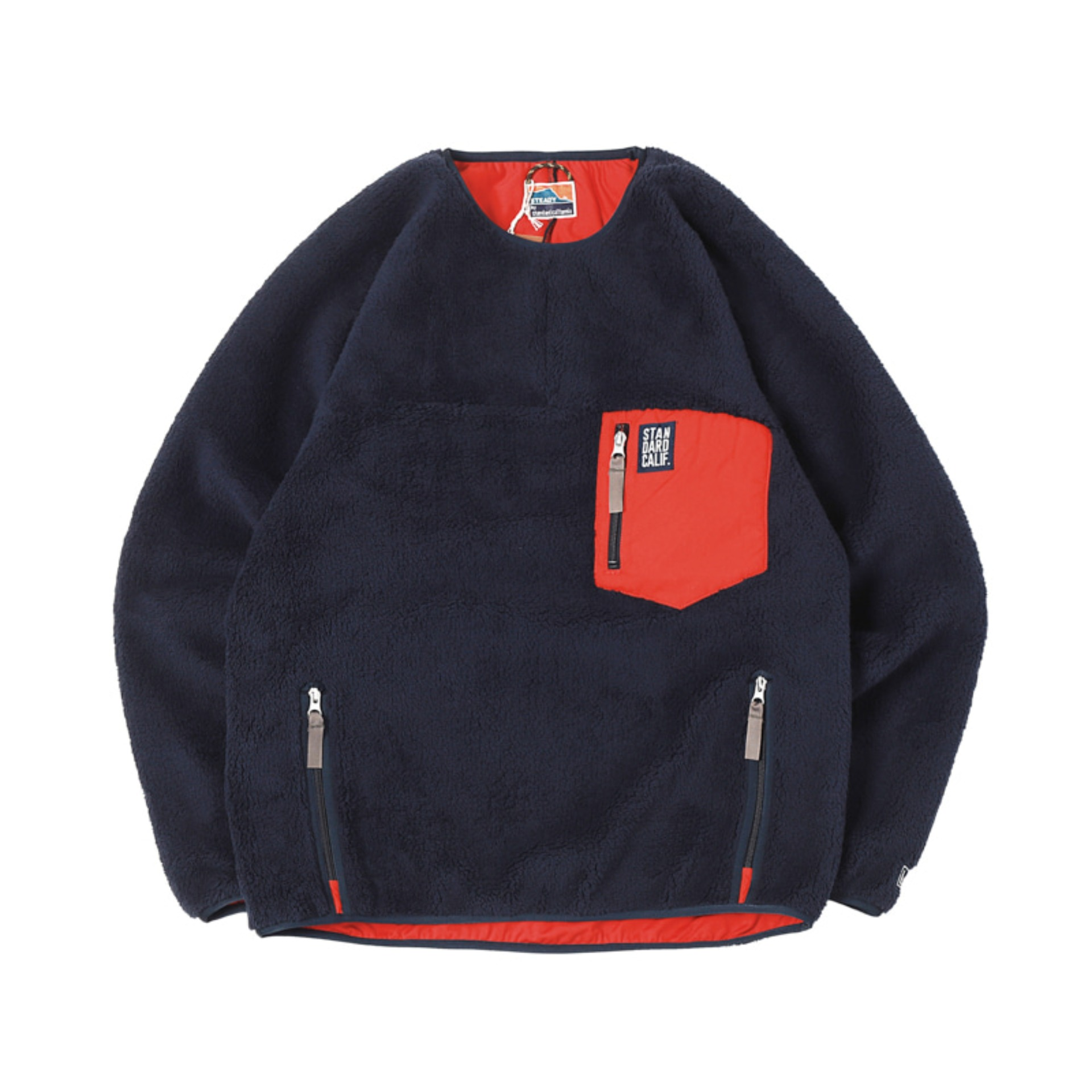 SD Classic Pile Pullover / DLS L + 2  (Navy)