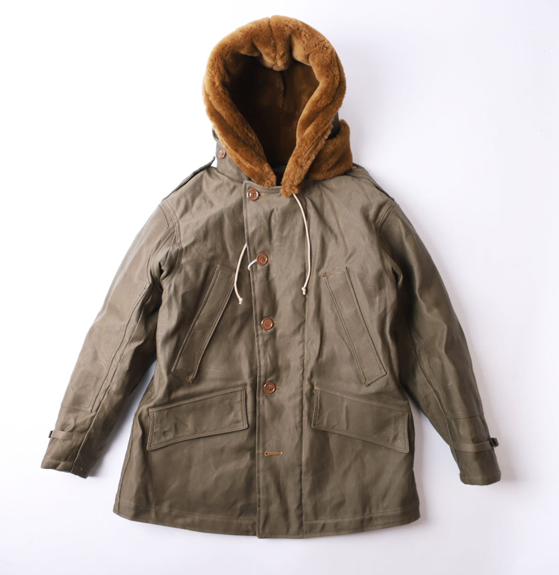 "[Union Special Overalls]Winter Flying Jacket""B-11""(KHAKI GREEN)"