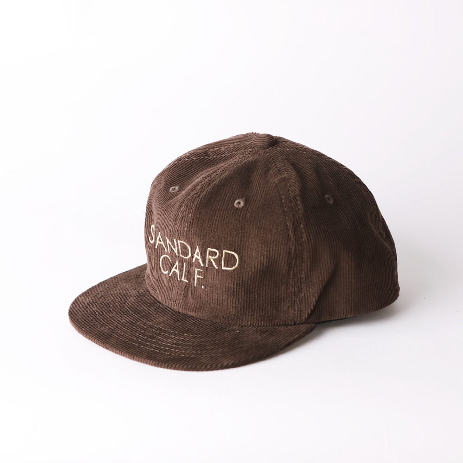 SD Corduroy Logo Cap (Brown)