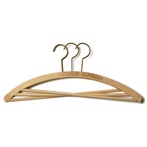 SD Wood Hanger 3 Piece Set
