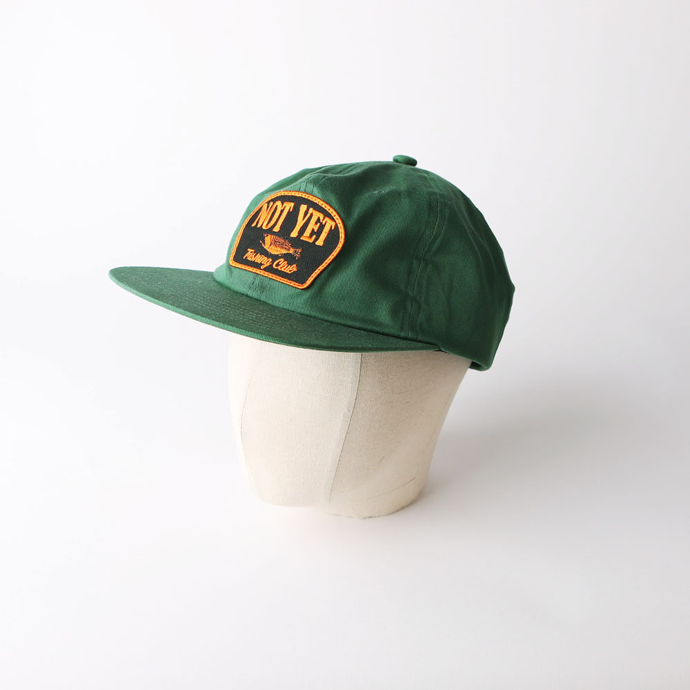 "SD ""NOT YET"" CAP (Green)"