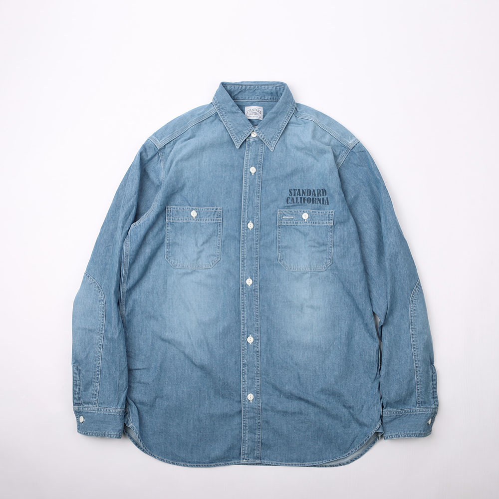 SD Denim Work Shirt (Indigo Used wash)