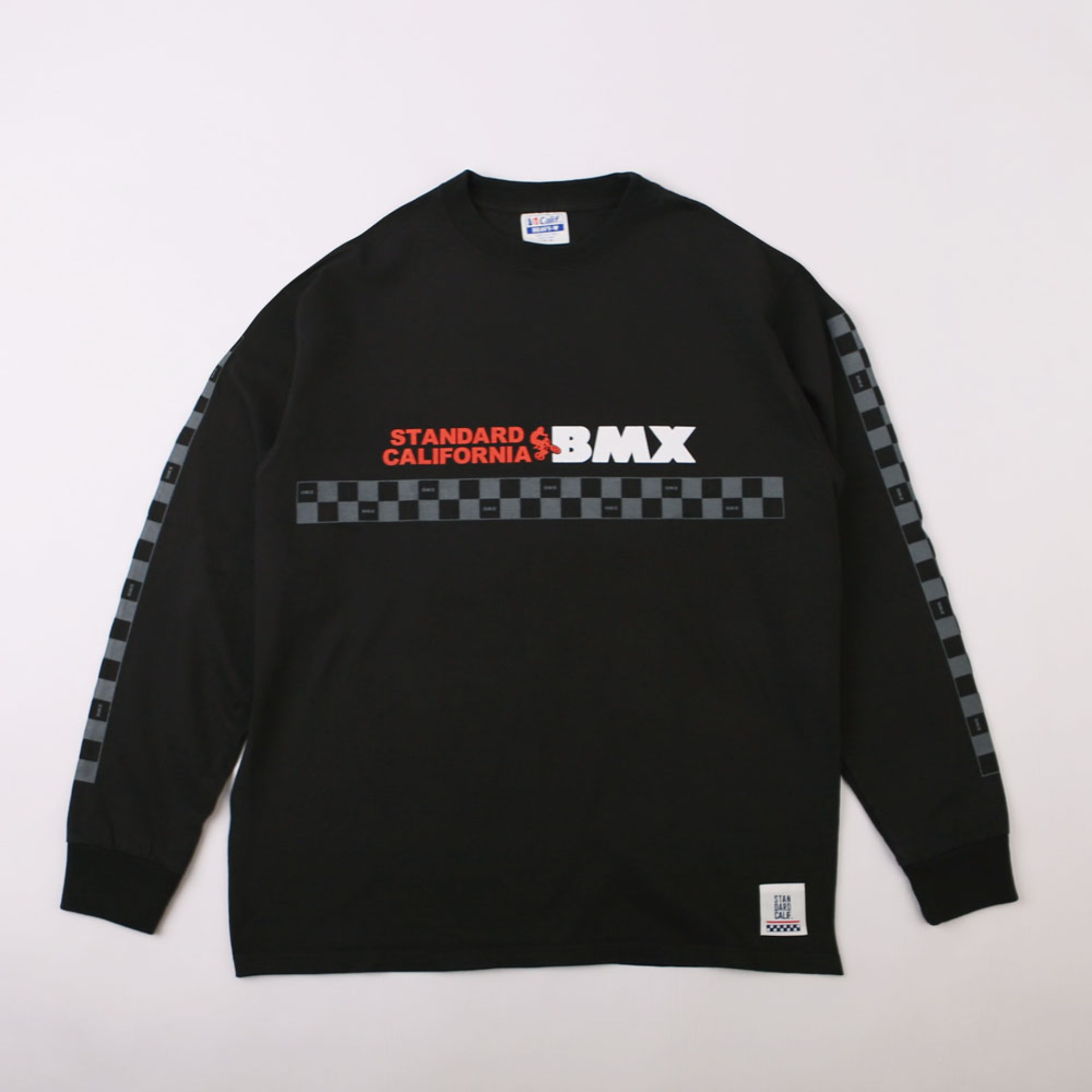 SD Heavyweight BMX Logo Long Sleeve T (Black)