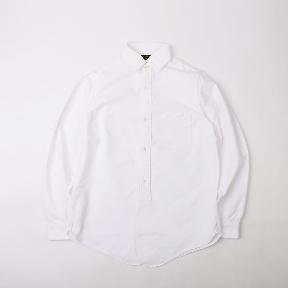 "[GREAT LAKES GMT. MFG.CO.]CLASSIC SHIRT""MAILER""(White)"