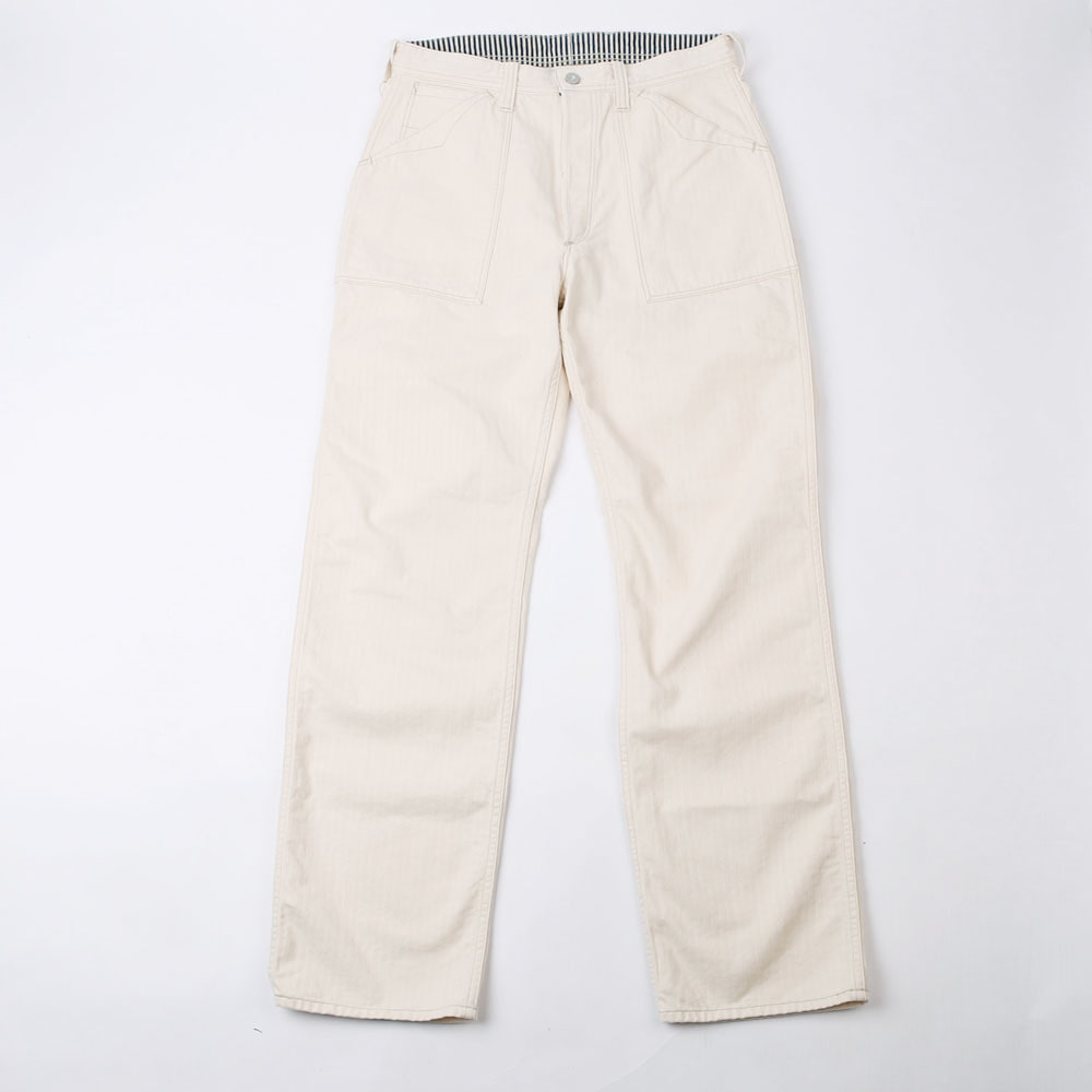 [Union Special Overalls]Work PantsLONGSHOREMAN OVERALLS(Raw White)