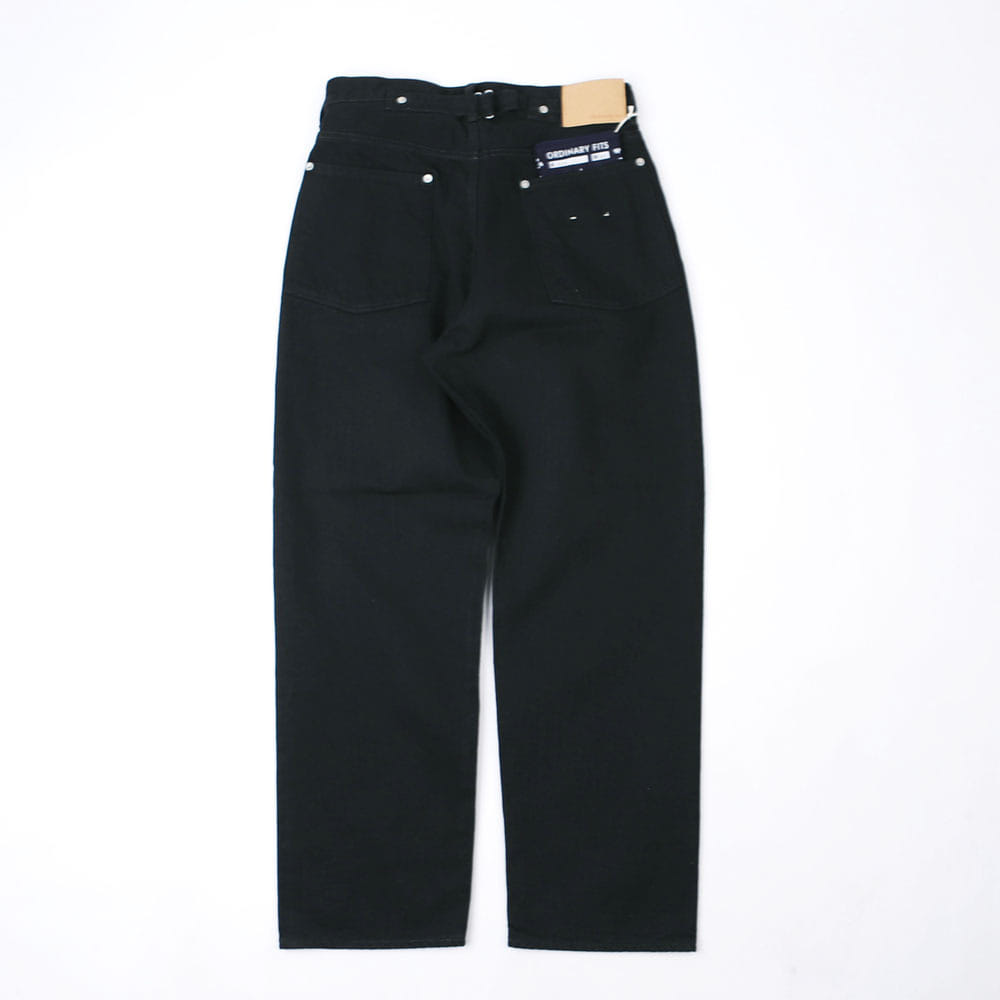 NEW FARMERS 5 POCKET DENIM - Black