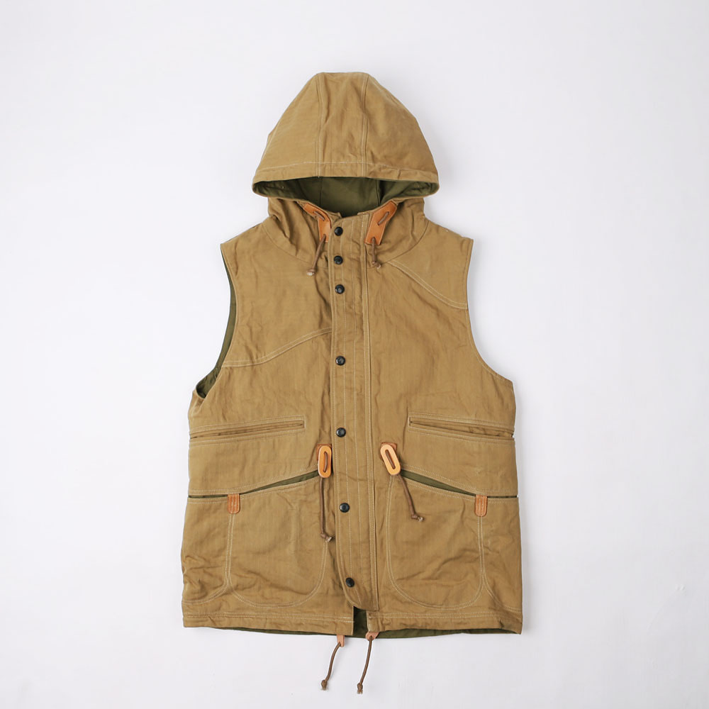 "OUTDOOR SPORTS MAN VEST""ORIGINAL SNIPER'S VEST""(Beige)"