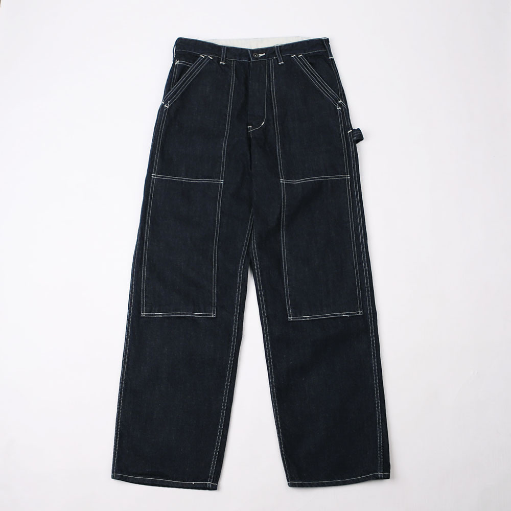 WORK PANT40's DOUBLE KNEE WORK PANTS(Indigo Denim)
