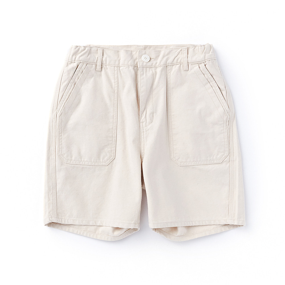 CWSP-001 Fatigue Short Pants Ecru