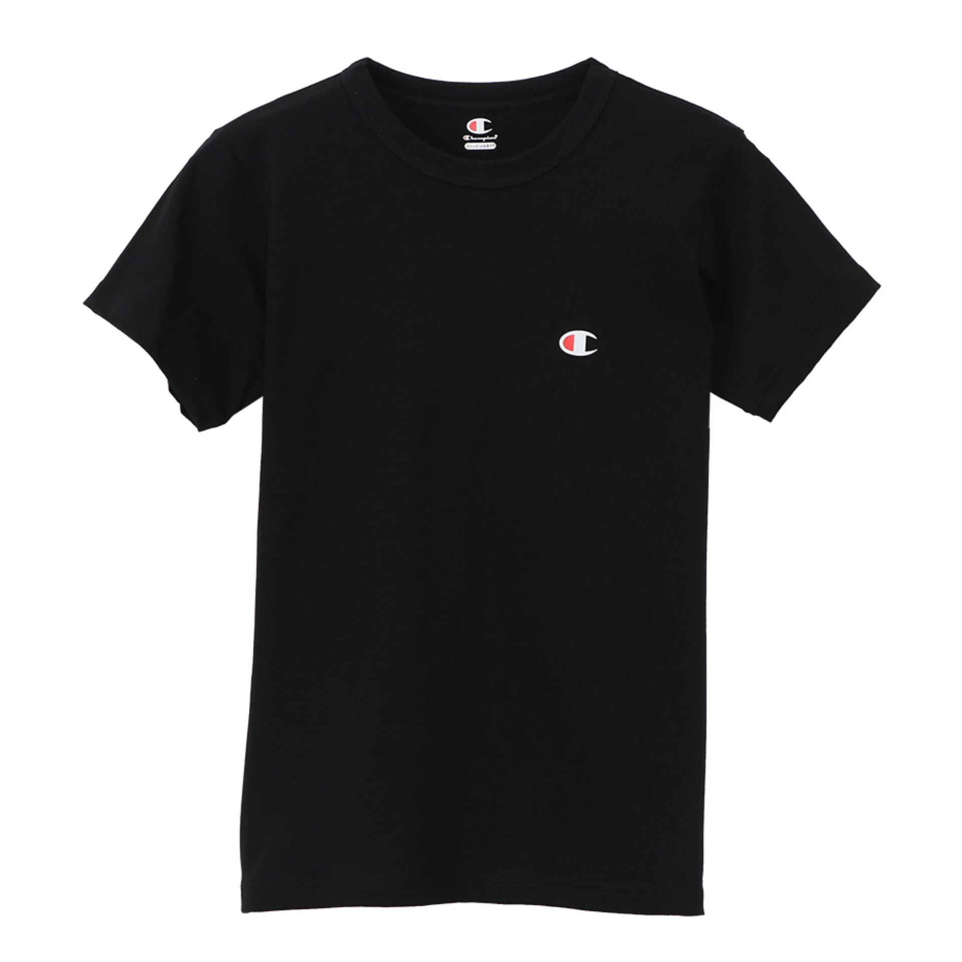 UNDERWEAR DOUBLE DRY CREWNECK T (Black)