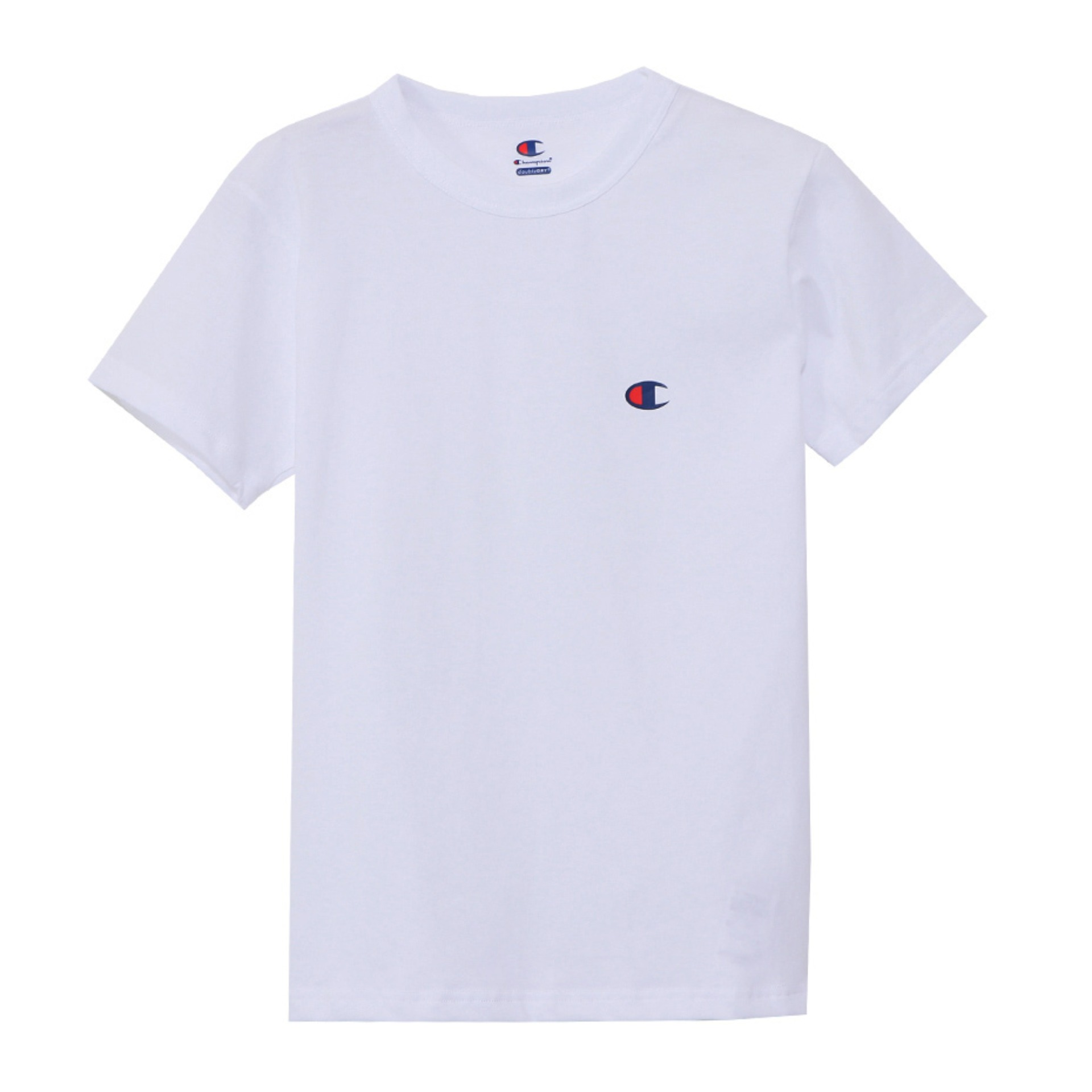 UNDERWEAR DOUBLE DRY CREWNECK T (White)