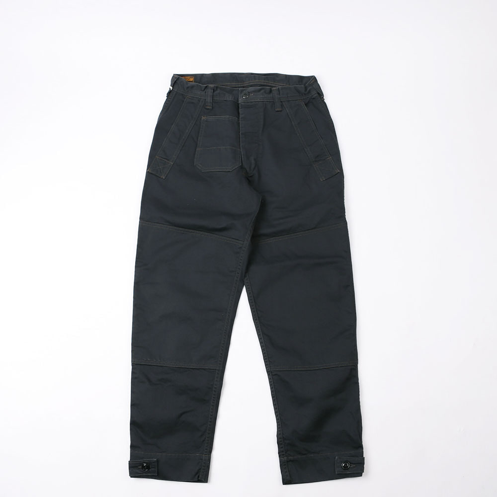 [Union Special Overalls]Military PantsDECK WORKER TROUSERS(RESTOCK)(Black)