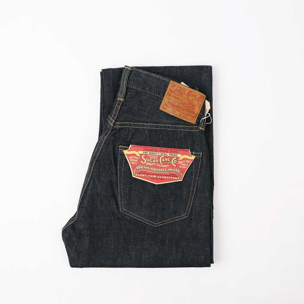 SUGARCANE DENIM 1947 MODEL (14.25oz)(Indigo)