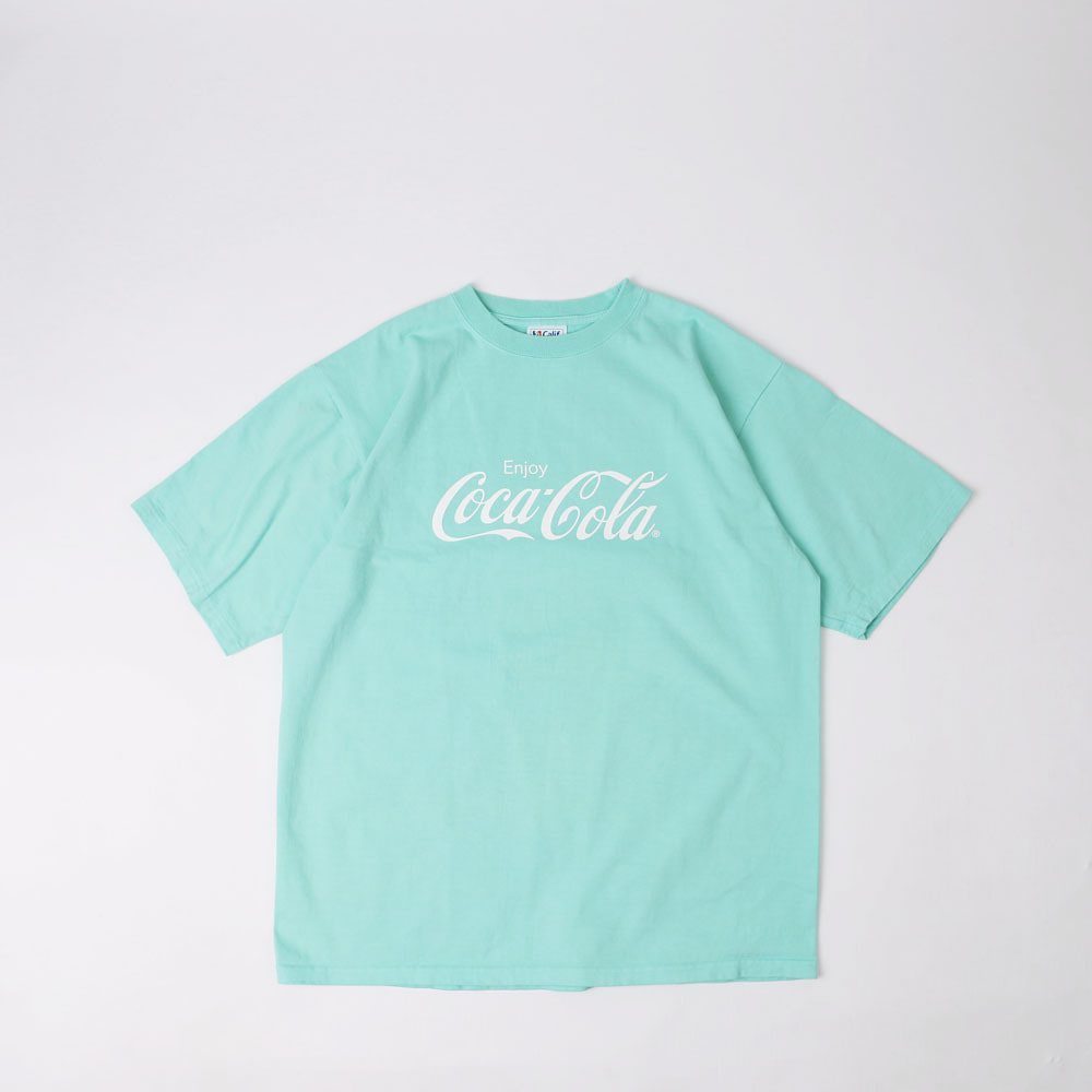 Coca Cola × SD Heavyweight T (Bottle Green)