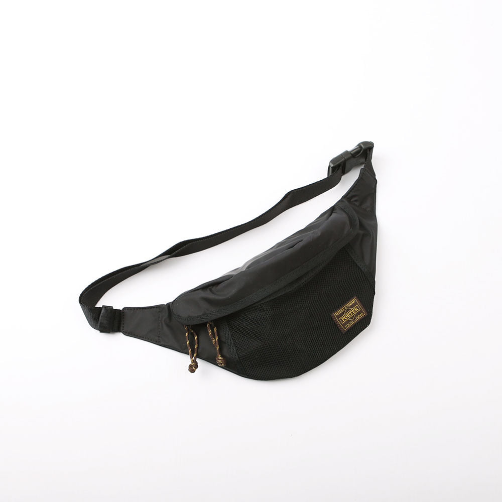 STANDARD CALIFORNIA × PORTER WAIST BAG (Black)
