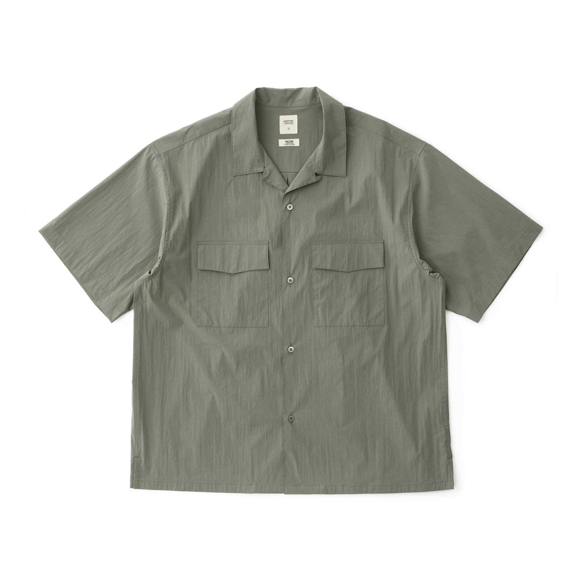 Voyager Open Collor Shirt (Sage Green)