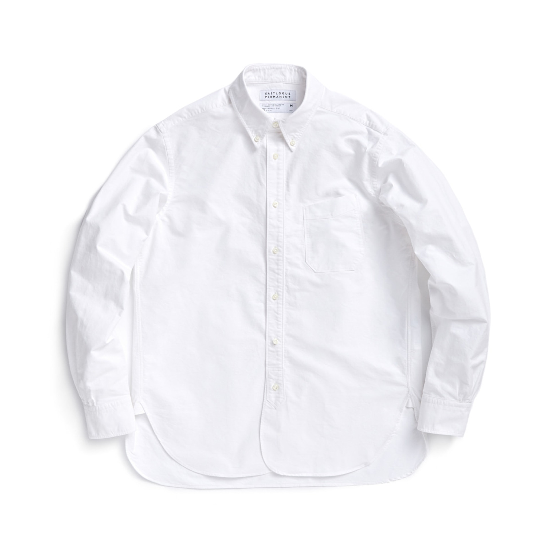 B.D REGULAR SHIRT (WHITE OXFORD)