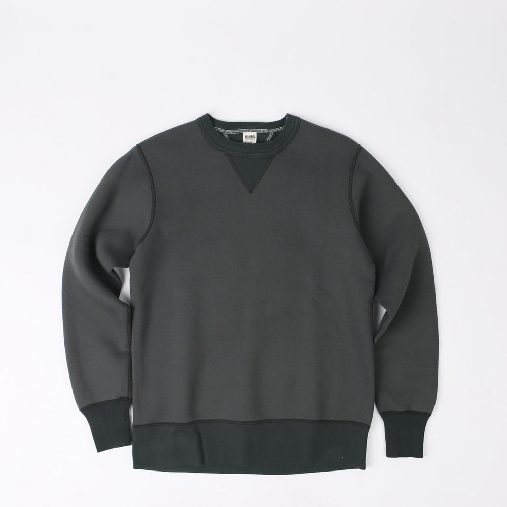 LOOPWHEELVINTAGE SWEAT SHIRT (Black)