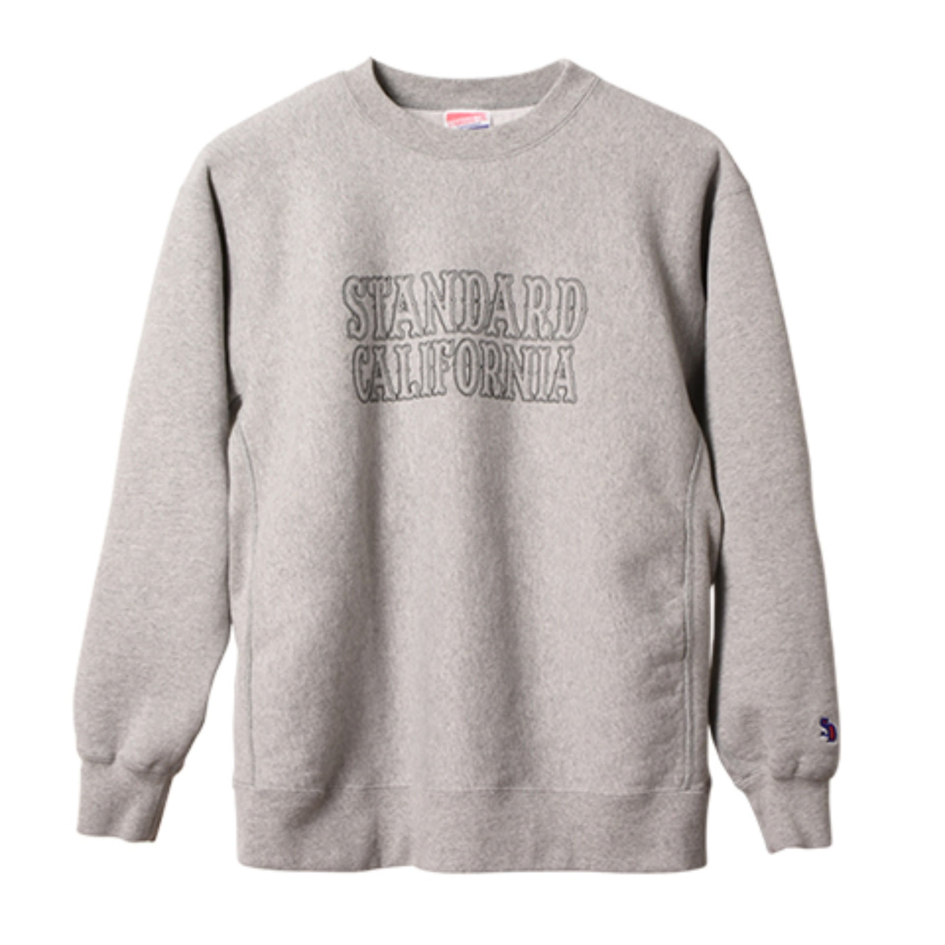 SD ReverseWeave Logo Sweat (Gray)