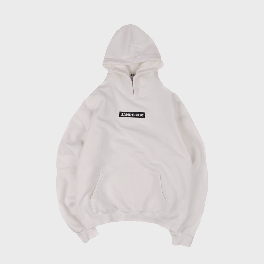 CRACK DAMAGE HOODIE (Off White)