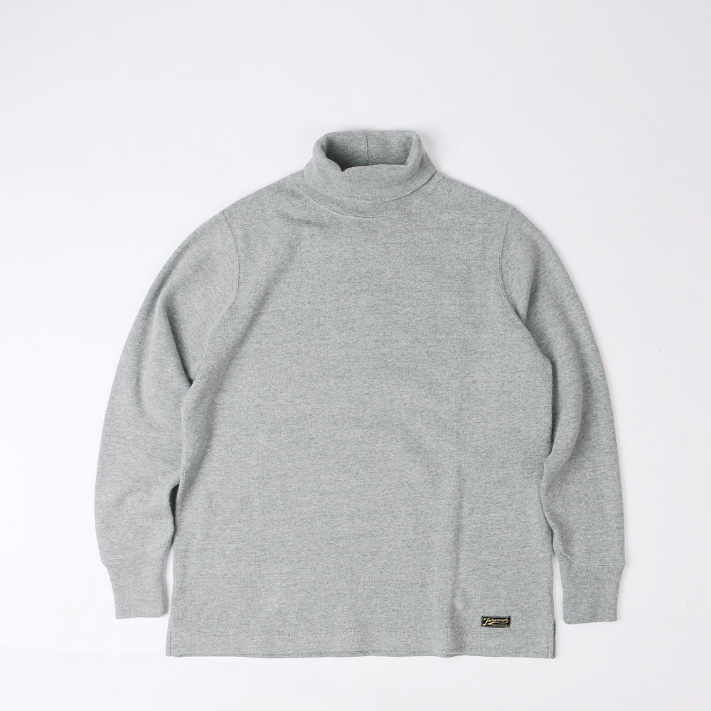 NEW KIRK TURTLENECK THERMAL (Mock Gray)