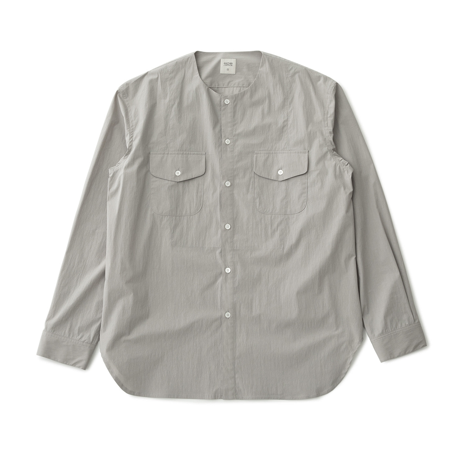 A/O 21SS Layer Round-neck Shirt (Misty Gray)