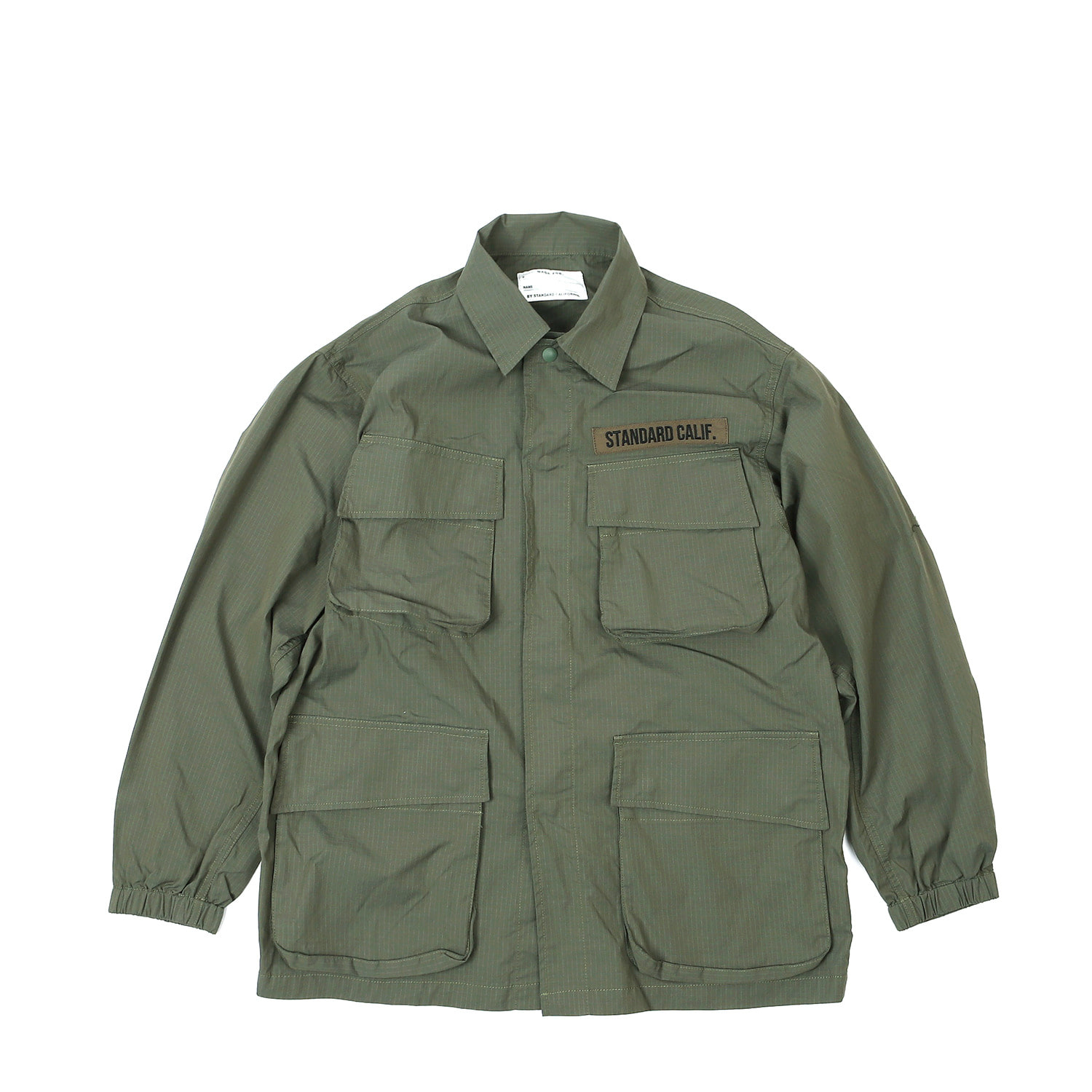 SD Coolmax Stretch Ripstop Jungle Fatigue Jacket (Olive)